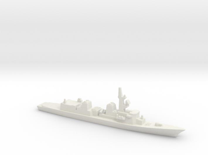 Murasame-class destroyer, 1/3000 3d printed