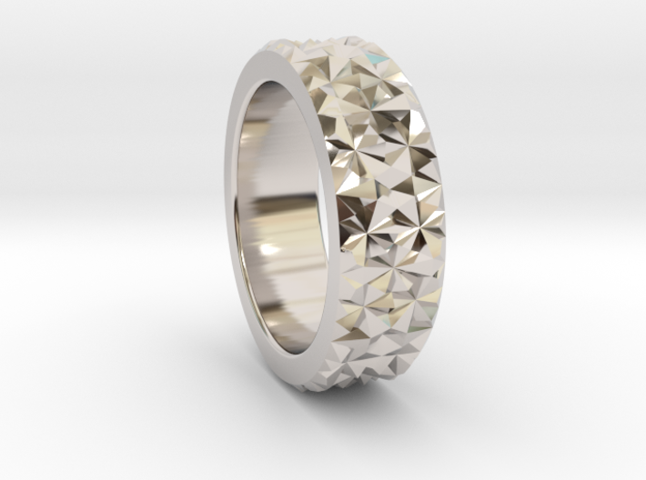 Light Reflection Ring 3d printed