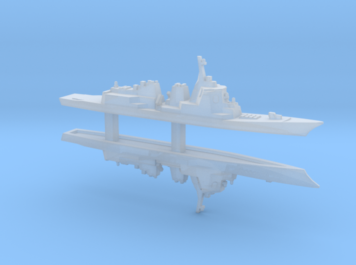 Atago-class Destroyer x 2, 1/6000 3d printed