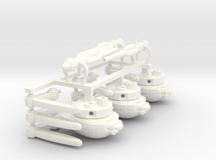 Three 21mm Heavy Tripods 3d printed