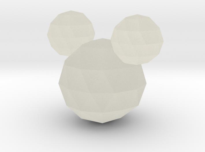 Crystal Mickey 3d printed