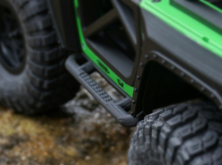 1/10 Scale Jeep rock sliders 3d printed