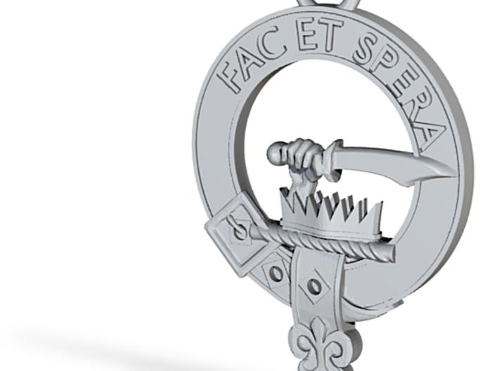 Clan Matheson key fob 3d printed