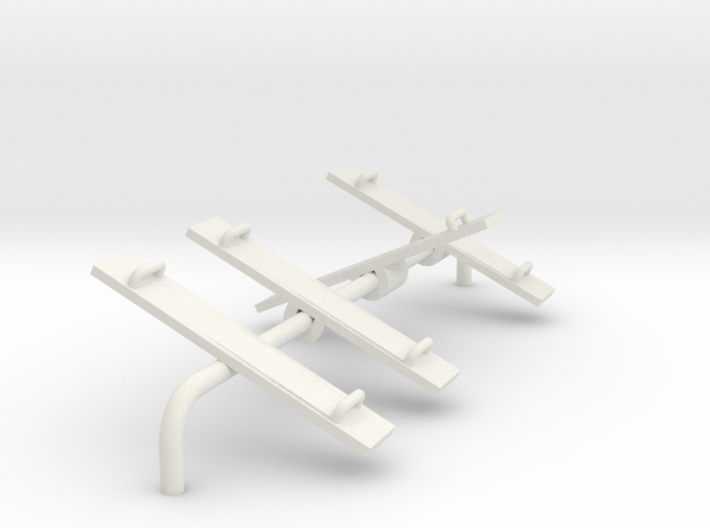 Playground Teeter Toter - HO 87:1 Scale 3d printed