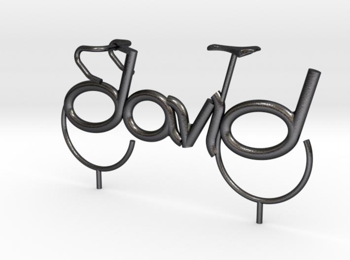 David Bicycle 3d printed