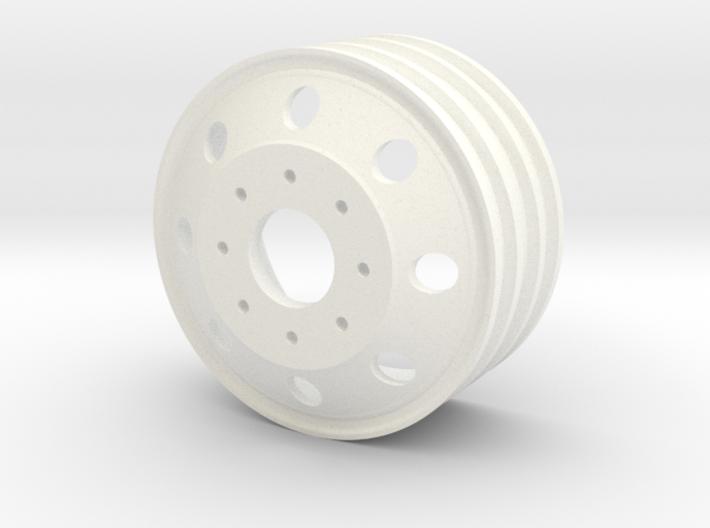Alcoa 1.9 24mm wide 8 lug wheel 3d printed