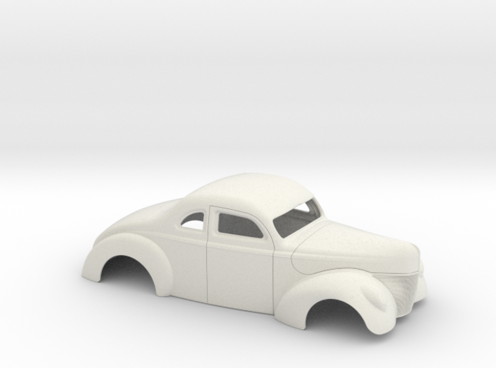 1/12 1940 Ford Coupe 2 Inch Chop 3d printed