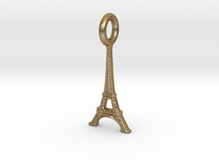 Eiffel Tower, Paris, France Charm 3d printed