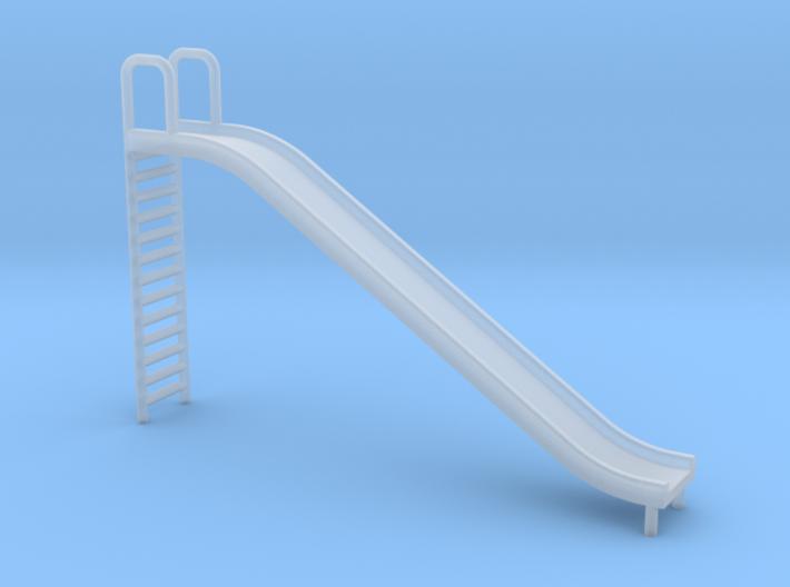 Playground Slide - N 160:1 Scale 3d printed