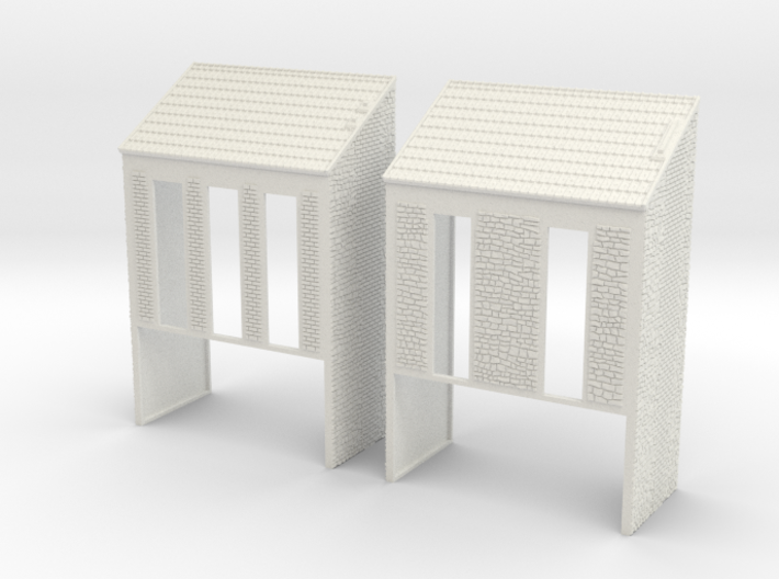 NVIM22 - City buildings 3d printed