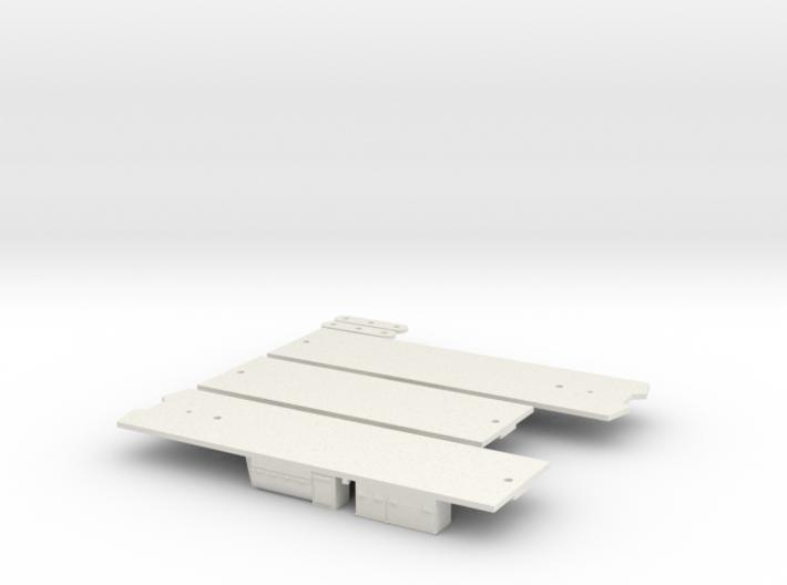 CTA 51-54 Series Underframe 3d printed