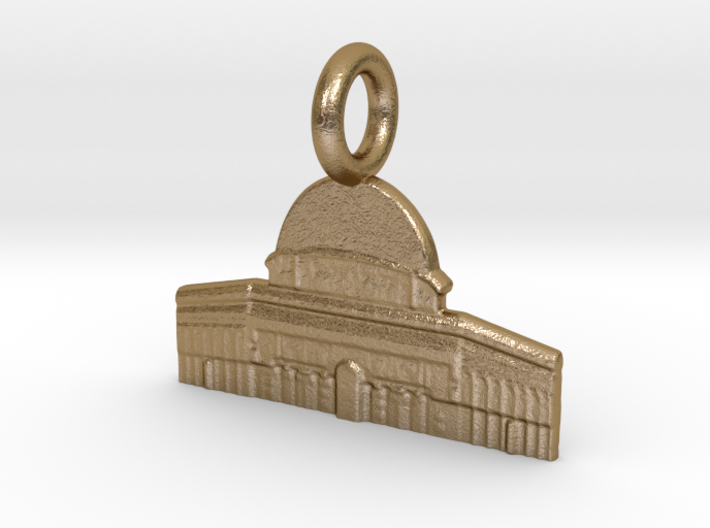 Dome of the Rock, Jerusalem, Israel Charm 3d printed
