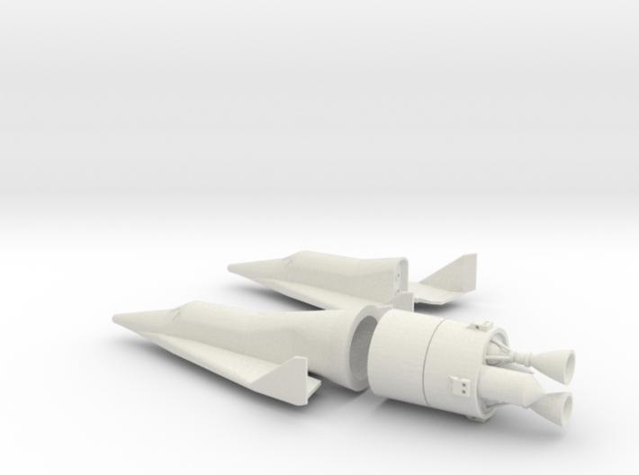 1/144 BOEING X-20 DYNA SOAR SPACE PLANE 3d printed