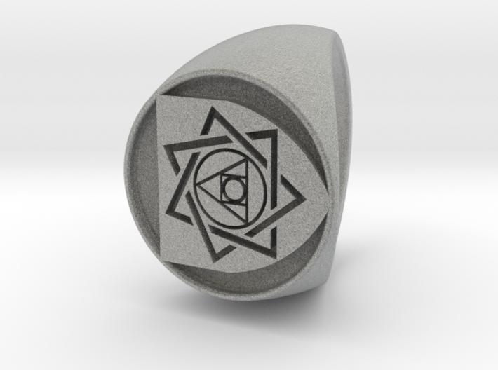 Custom Signet Ring 27 3d printed
