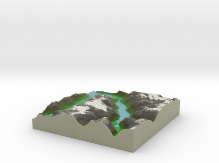 Terrafab generated model Sun May 15 2016 23:13:42 3d printed
