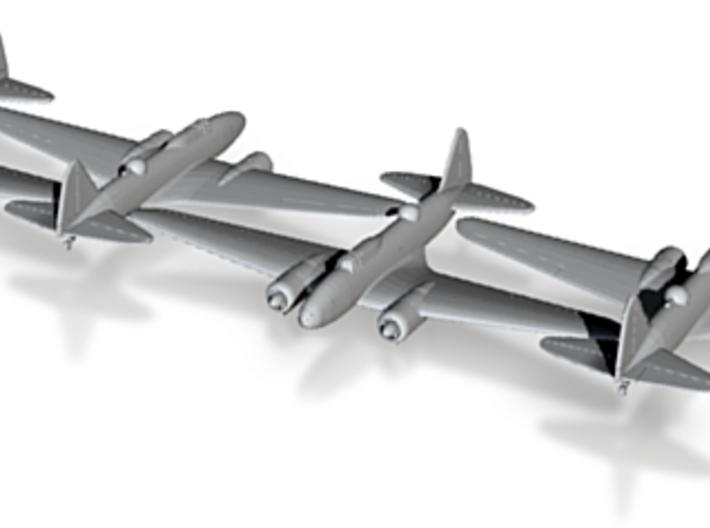1/285 Ilyushin IL-4 Soviet WW2 Bomber x4 3d printed