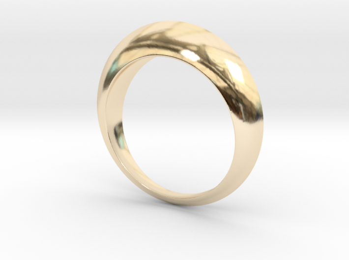 Dome Ring 3d printed