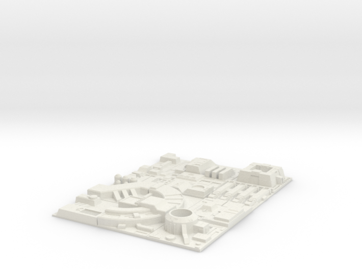 1/270 Death Star Tiles full set 3d printed
