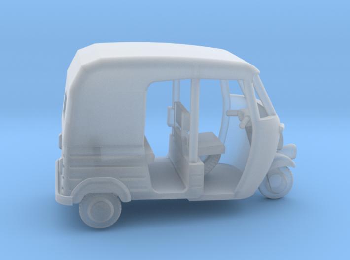 Auto Rickshaw / Tuk Tuk, OO-Scale 1:76 3d printed