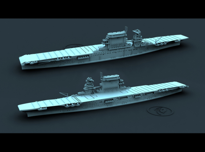 US CV2 Lexington [1942] 3d printed