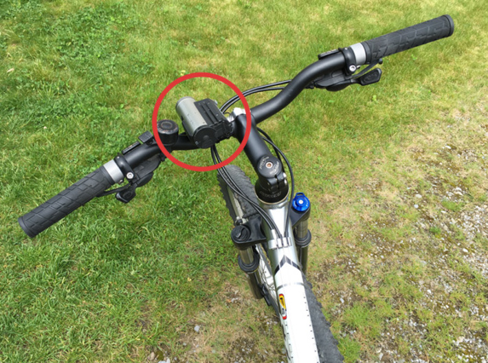 Bar Mount Contour Camera 22mm 3d printed bike and camera not included =)