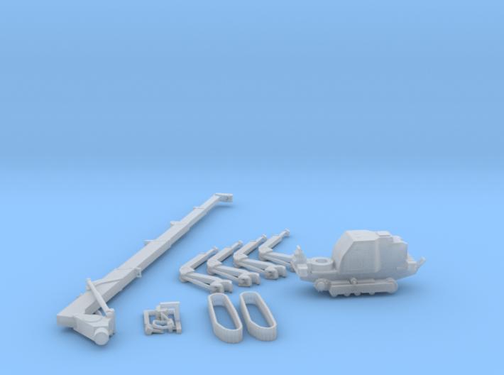 HO/1:87 Mini Crawler Crane Set B kit 3d printed