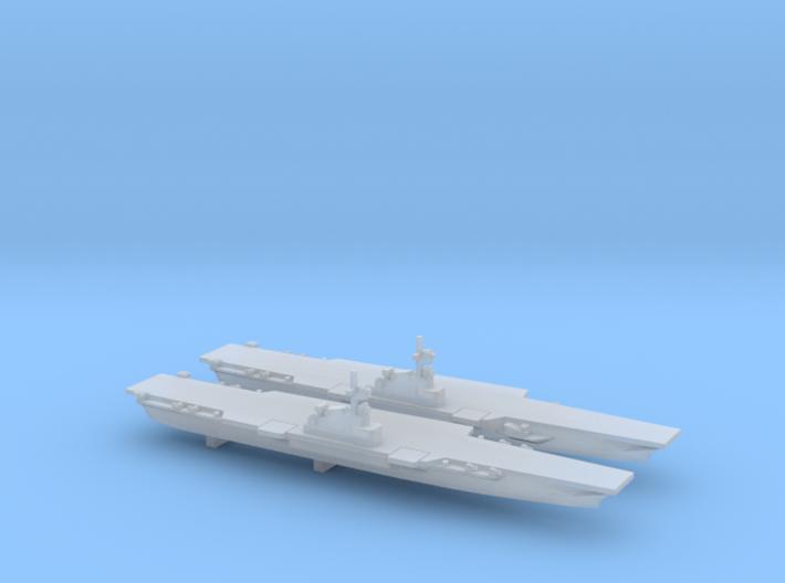 CV PA58 set, 2pc, 1/6000 3d printed