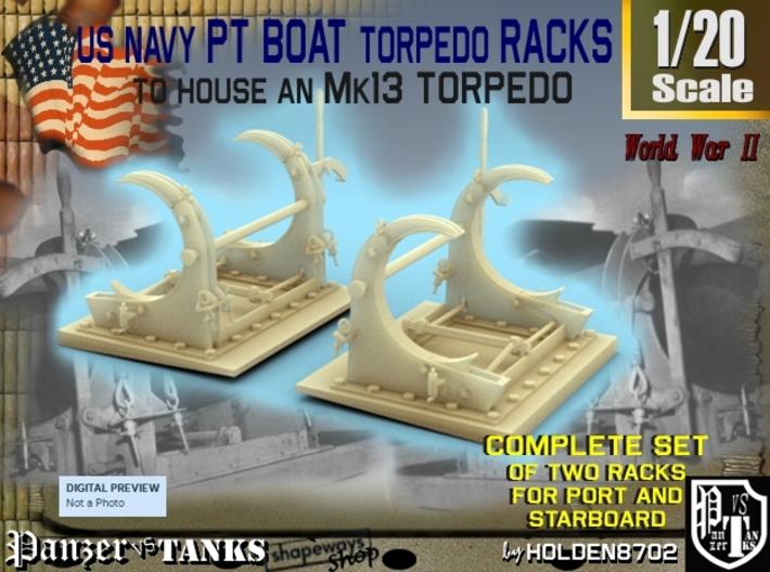 1-20 PT Torpedo Rack TypC 3d printed