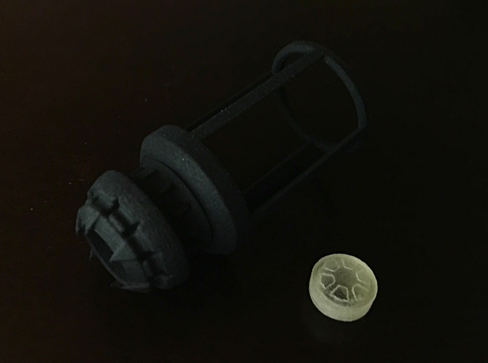 Blade Plug - Moraband 3d printed Black Strong and Flexible (insert not included)