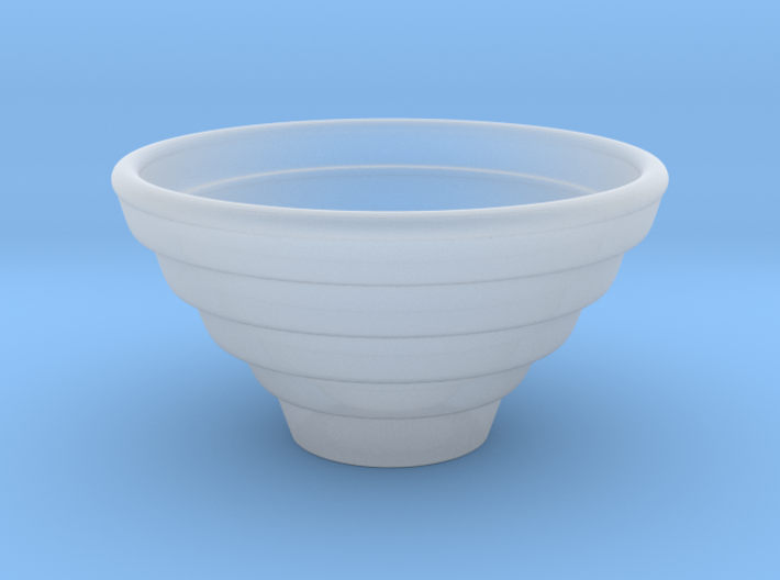 Bowl Hollow Form 2016-0007 various scales 3d printed