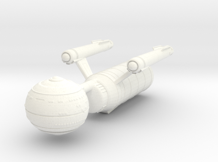 Johnson Class Med Ship 3d printed