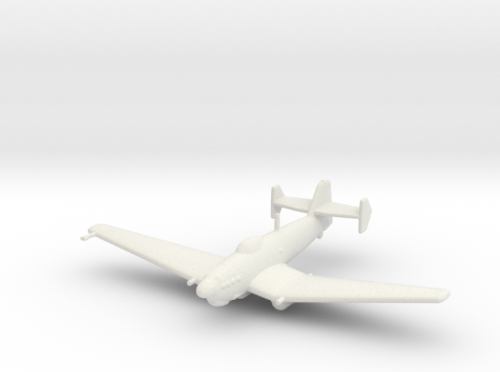 Loire-Nieuport LN.401/411 (without bomb) 3d printed