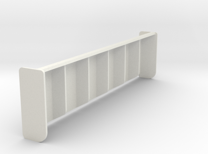 Rear Wing for 1/10 scale RC model 3d printed