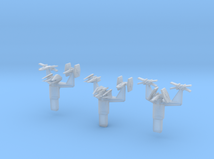 Fighter Uglies Close Up 3d printed
