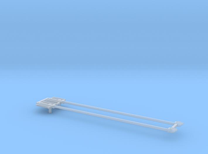 CTA 4000 Series Trolley Pole Pair 3d printed
