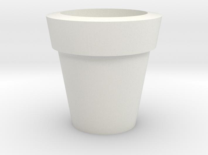 Design Plain Flower Pot 3d printed