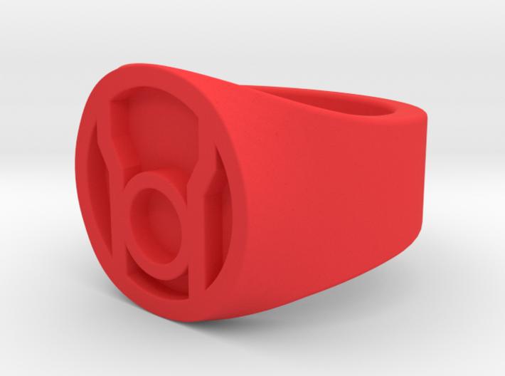 Red Lantern Ring Size 11 3d printed