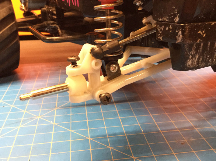 070002-01 AMPro CW01 Front End, WIDE 8mm Offset 3d printed