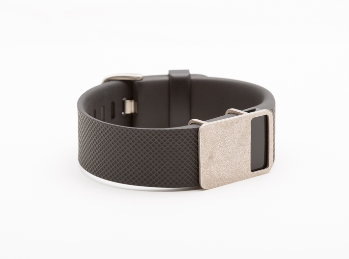 Steel Rasa slide for Fitbit Charge & Charge HR 3d printed