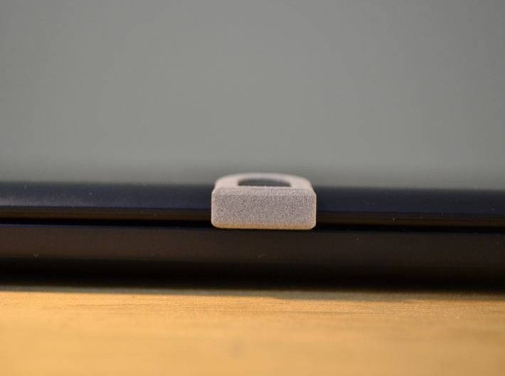 Webcam Cover // 8mm // BIG 3d printed Closed laptop with a 3D Webcam Cover
