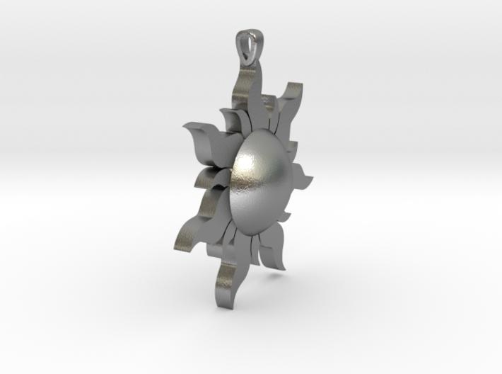 Sun 2 Necklace 3d printed