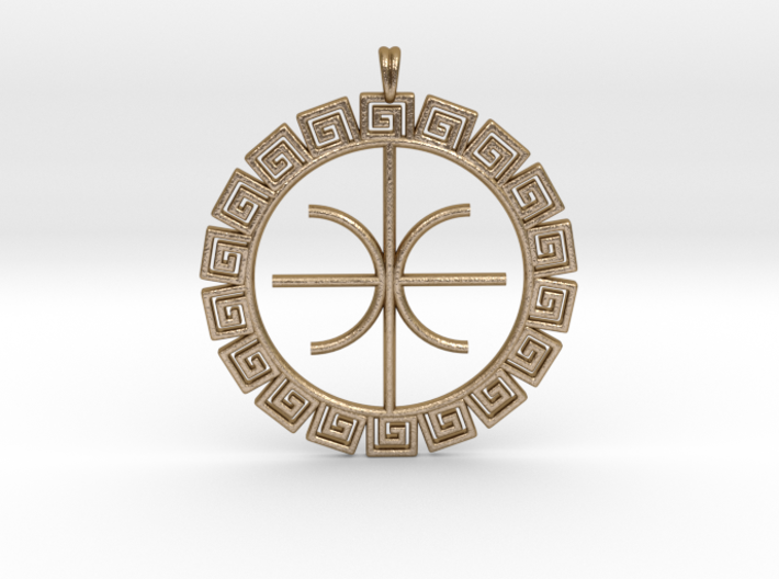 Delphic Apollo E Ancient Greek Jewelry Symbol 3D 6PPRH5ZJN by