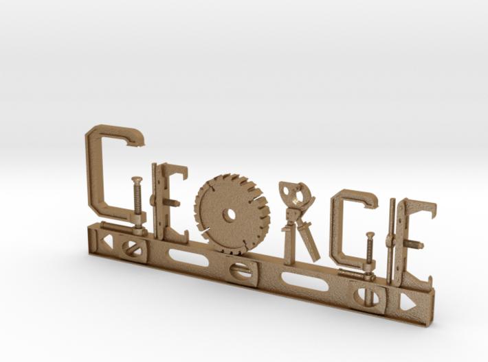 George Nametag 3d printed