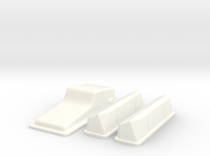 1/12 Ford 427 Side Oiler Stock Pan And Cover Kit 3d printed
