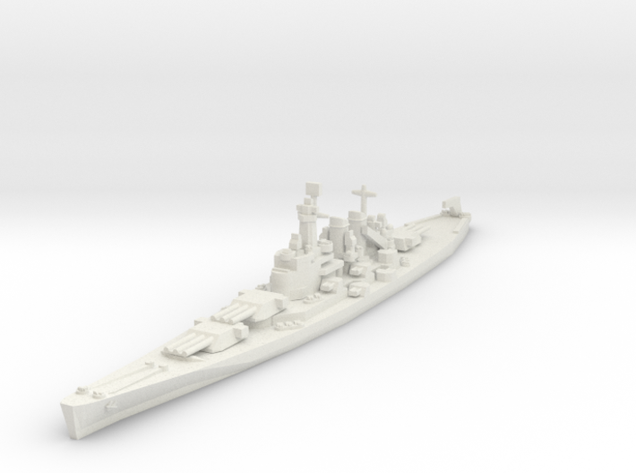 North Carolina class battleship 1/1800 3d printed