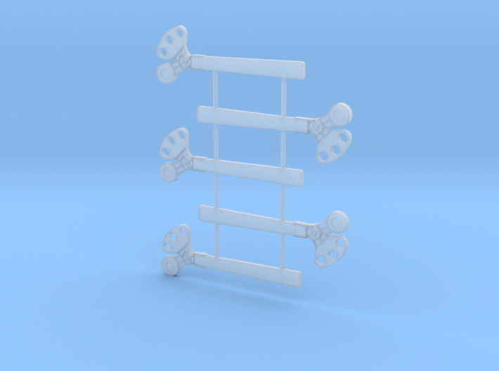 O Scale 3Pos. TO Semaphore Square 3d printed