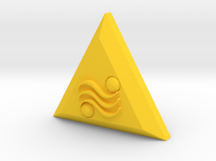 The Triforce Of Power 3d printed