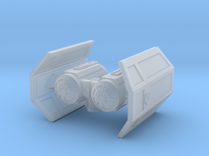 Tie Shuttle for Casual X-wing 3d printed