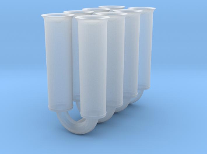 1/25 Tall Weber Velocity Stacks 3d printed