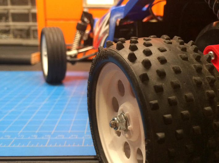 AMPro RFX Wheels for Rising Fighter 3d printed